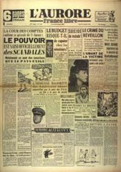 Aurore France Libre (L') N°1333 du 27/12/1948 - Couverture - Format classique