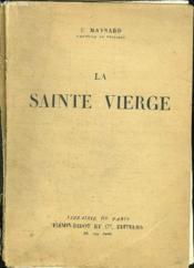 La Sainte Vierge. - Couverture - Format classique