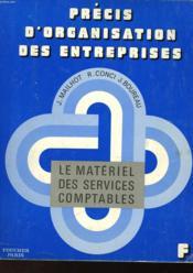 Le Materiel Des Services Comptables - Couverture - Format classique