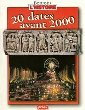 Vente  20 dates avant 2000  - Collectif