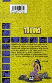 Toyuki t.3 - 4ème de couverture - Format classique