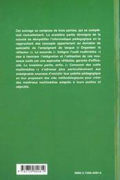 Des Outils Pour Des Langues Multimedia Et Apprentissage - 4ème de couverture - Format classique