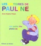 Les Histoires De Pauline - Couverture - Format classique