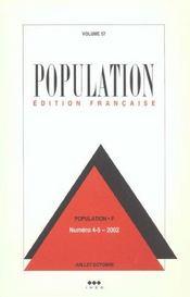 Population N 4-5 Juillet Octobre 2002 - Intérieur - Format classique