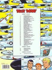 Buck Danny t.42 ; les pilotes de l'enfer - 4ème de couverture - Format classique