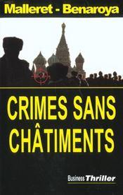 Crimes sans chatiments - Intérieur - Format classique