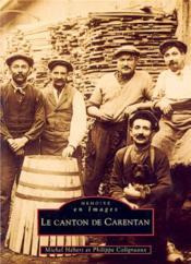 Le canton de Carentan - Couverture - Format classique