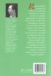 Voyage a muxandor - 4ème de couverture - Format classique