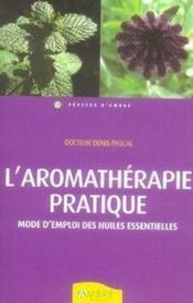 L'aromathérapie pratique - Couverture - Format classique