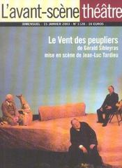 Revue L'Avant-Scene Theatre N.1128 ; Le Vent Des Peupliers - Intérieur - Format classique