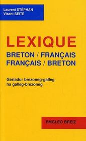 Dictionnaire Breton/Francais - Francais/Breton - Intérieur - Format classique
