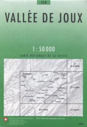 Vallée de Joux - Couverture - Format classique