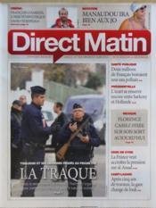 Direct Matin N°1054 du 21/03/2012 - Couverture - Format classique