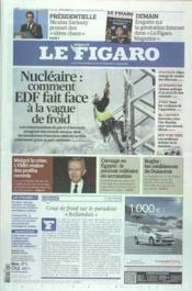 Figaro (Le) N°20997 du 03/02/2012 - Couverture - Format classique