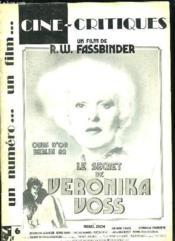 Cine Critiques N° 6. Sommaire: Un Film De Rw Fassbinder, Le Secret De Veronika Voss. - Couverture - Format classique