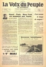 Voix Du Peuple De Touraine (La) N°1343 du 23/04/1967 - Couverture - Format classique