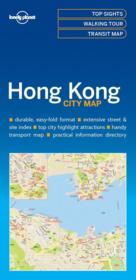 Vente  City map ; Hong Kong (édition 2017)  - Xxx - Collectif - Collectif Lonely Planet