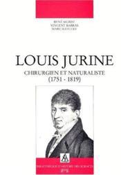 Louis Jurine - Couverture - Format classique