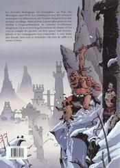 Les traîne-ténèbres t.3 ; le pays des montagnes sans nom - 4ème de couverture - Format classique