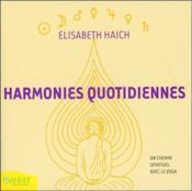 Harmonies quotidiennes - Couverture - Format classique