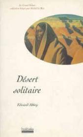 Desert Solitaire - Couverture - Format classique