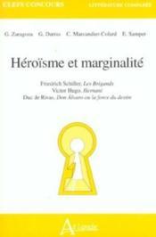 Heroisme Et Marginalite - Couverture - Format classique