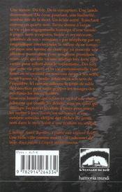 Tueuse - 4ème de couverture - Format classique