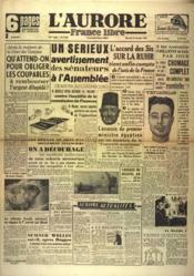 Aurore France Libre (L') N°1335 du 29/12/1948 - Couverture - Format classique