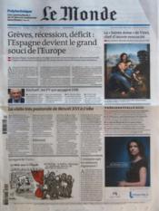 Monde (Le) N°20898 du 29/03/2012 - Couverture - Format classique