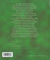 Plantes d'interieur - 4ème de couverture - Format classique