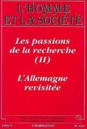 Homme Et Societe N°116 - Couverture - Format classique