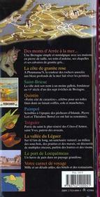 Cotes D'Armor (Saint-Brieuc, Guingamp, Lannion, Paimpol, Brehat - 4ème de couverture - Format classique