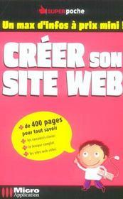 Creer son site web - Intérieur - Format classique