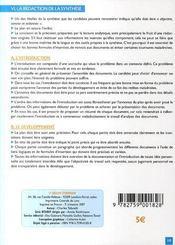 Bts/dut ; Francais ; La Synthese - 4ème de couverture - Format classique
