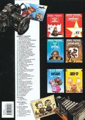 Spirou et Fantasio t.43 ; Vito la Déveine - 4ème de couverture - Format classique
