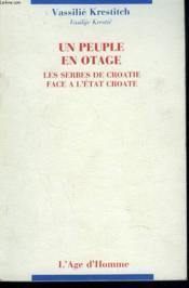 Un Peuple En Otage - Couverture - Format classique