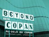 Au Dela Du Copan / Beyond The Copan - Couverture - Format classique