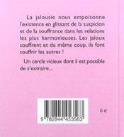 81 Facons D'En Finir Avec La Jalousie - 4ème de couverture - Format classique