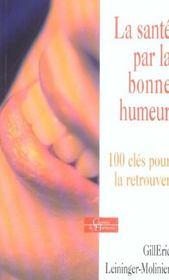 La Sante Par La Bonne Humeur - Intérieur - Format classique