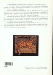 La dentelle a l'aiguille - 4ème de couverture - Format classique