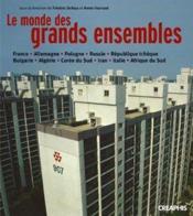 Grands Ensembles D'Est En Ouest - Couverture - Format classique