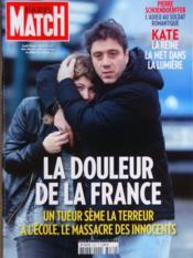 Paris Match N°3279 du 21/03/2012 - Couverture - Format classique