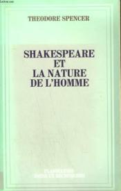 Shakespeare Et La Nature De L'Homme. - Couverture - Format classique