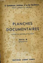Planches Documentaires - Couverture - Format classique