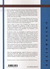 Hydrologie fluviale - 4ème de couverture - Format classique
