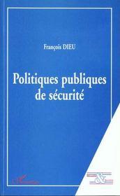 Politiques publiques de sécurité - Intérieur - Format classique
