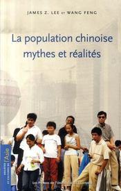 La population chinoise ; mythes et réalités - Intérieur - Format classique