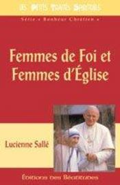 Femmes De Foi Et Femmes D'Eglise - Intérieur - Format classique