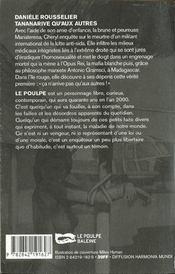 Tananarive Qu'Aux Autres - 4ème de couverture - Format classique