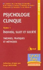 Psycho clinique t.1 ; lexifac - Couverture - Format classique